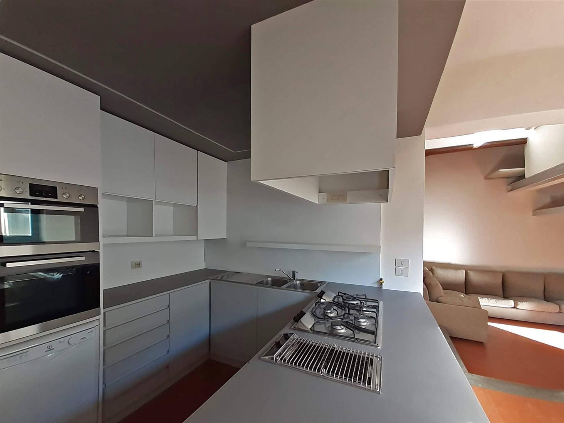 moderna cucina a vista