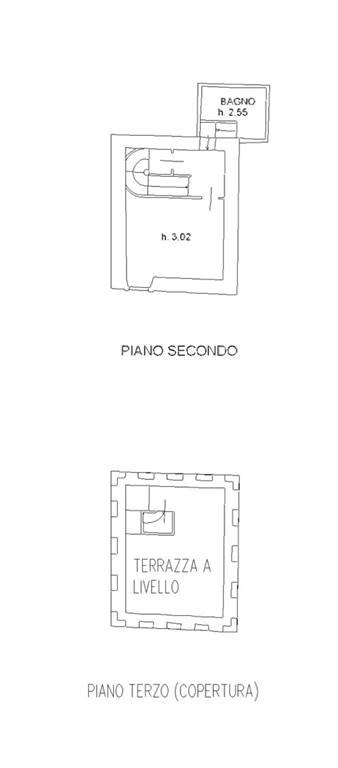 Piano secondo e terrazzo