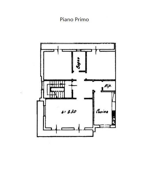 Planimetria indicativa Piano Primo