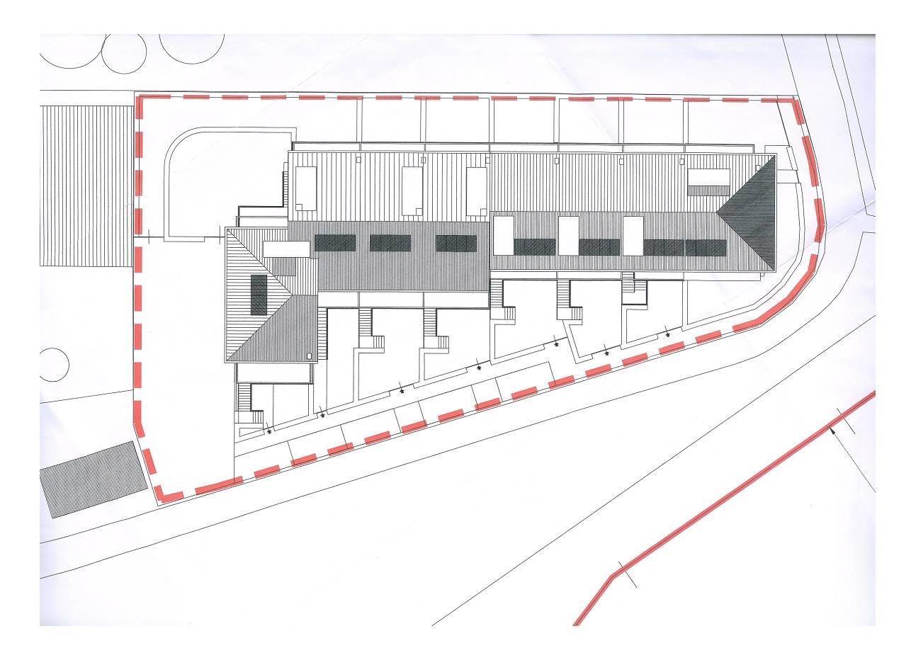 Planimetria indicativa piano copertura