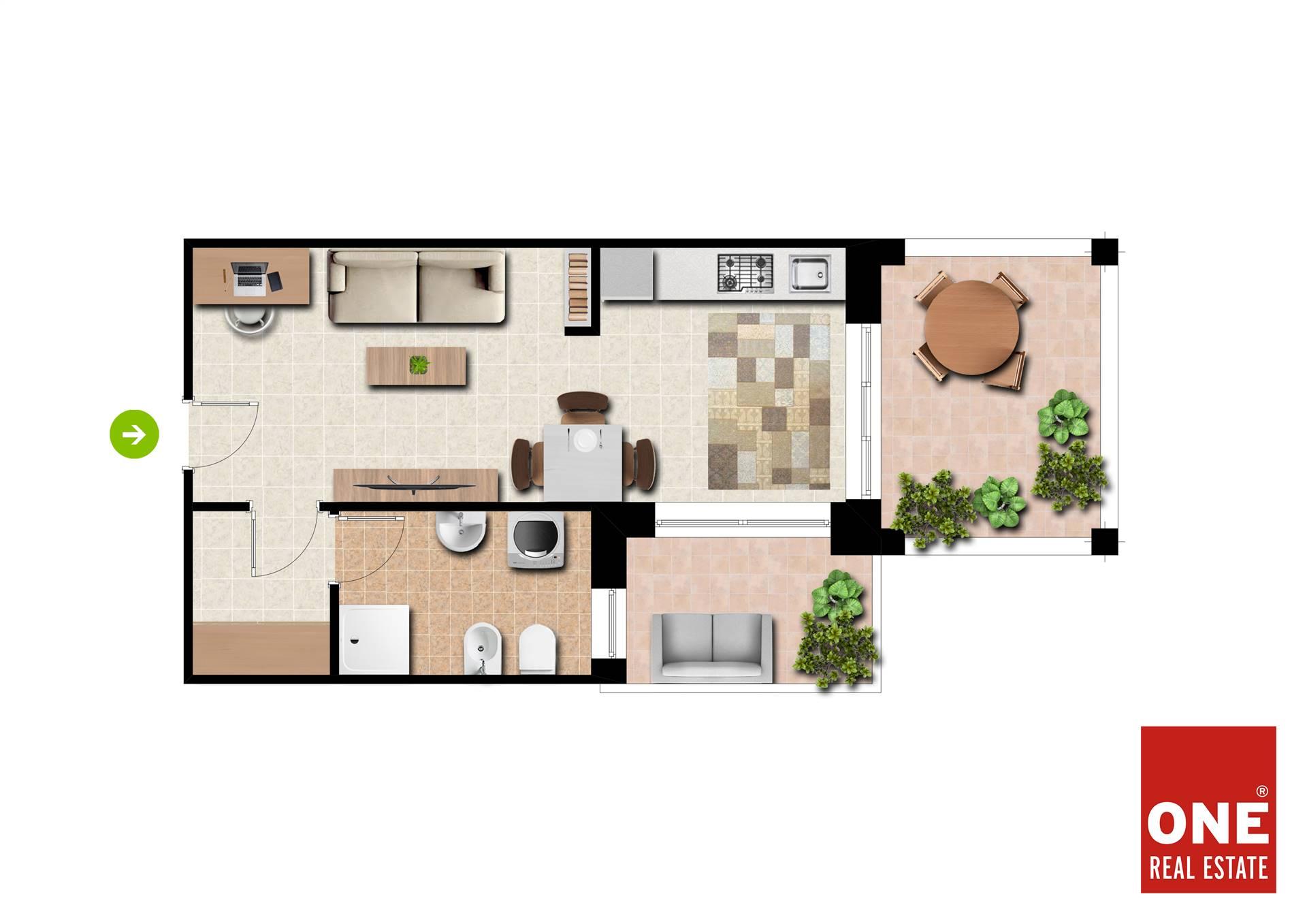 Appartamento in vendita a Seregno, 1 locali, prezzo € 78.000   CambioCasa.it