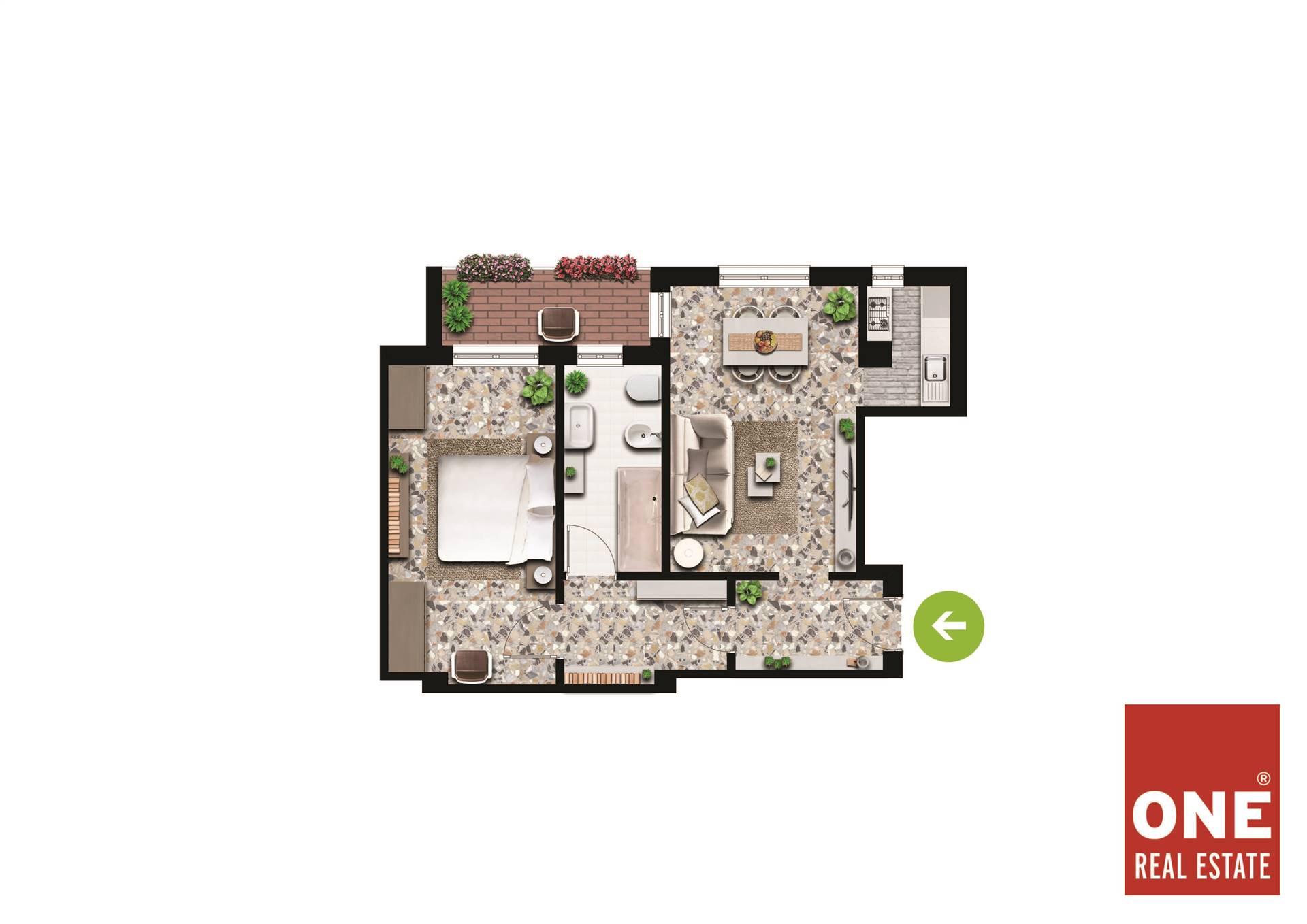 Appartamento in vendita a Cavaria con Premezzo, 2 locali, prezzo € 39.000   CambioCasa.it