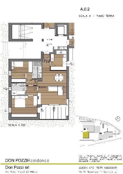 Vendita nuova costruzione castello lecco in nuova for Software di piano di pavimento del garage