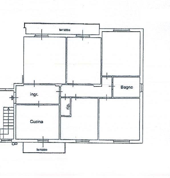 Appartamento, Pistoia Ovest, Pistoia, abitabile