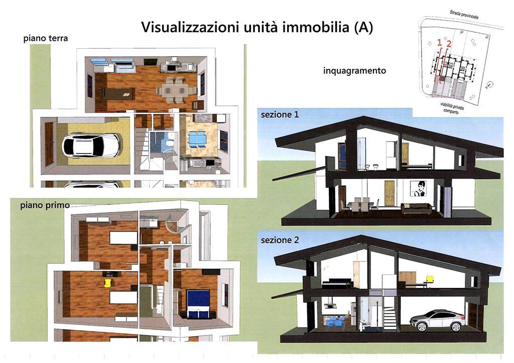 Casa singola a borgo san lorenzo in vendita e affitto for Nuovi piani casa a due piani