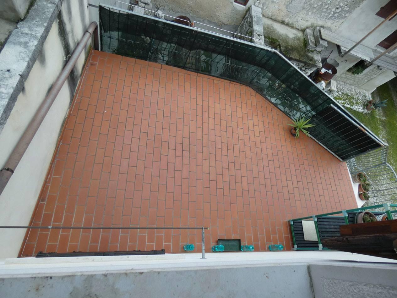 Terrazzo abitabile al primo piano