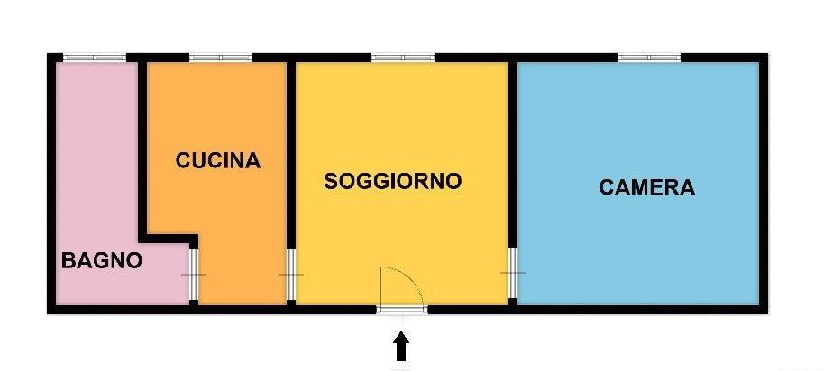 Appartamento in affitto a Paderno Dugnano, 2 locali, zona Zona: Palazzolo Milanese, prezzo € 550 | CambioCasa.it