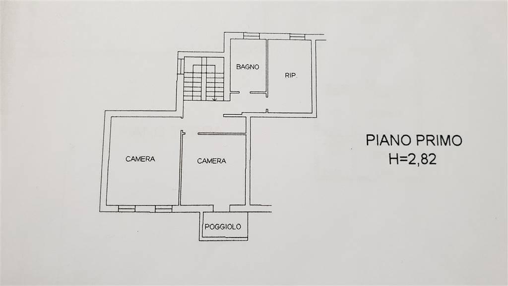 Piano primo Abit. mq.170