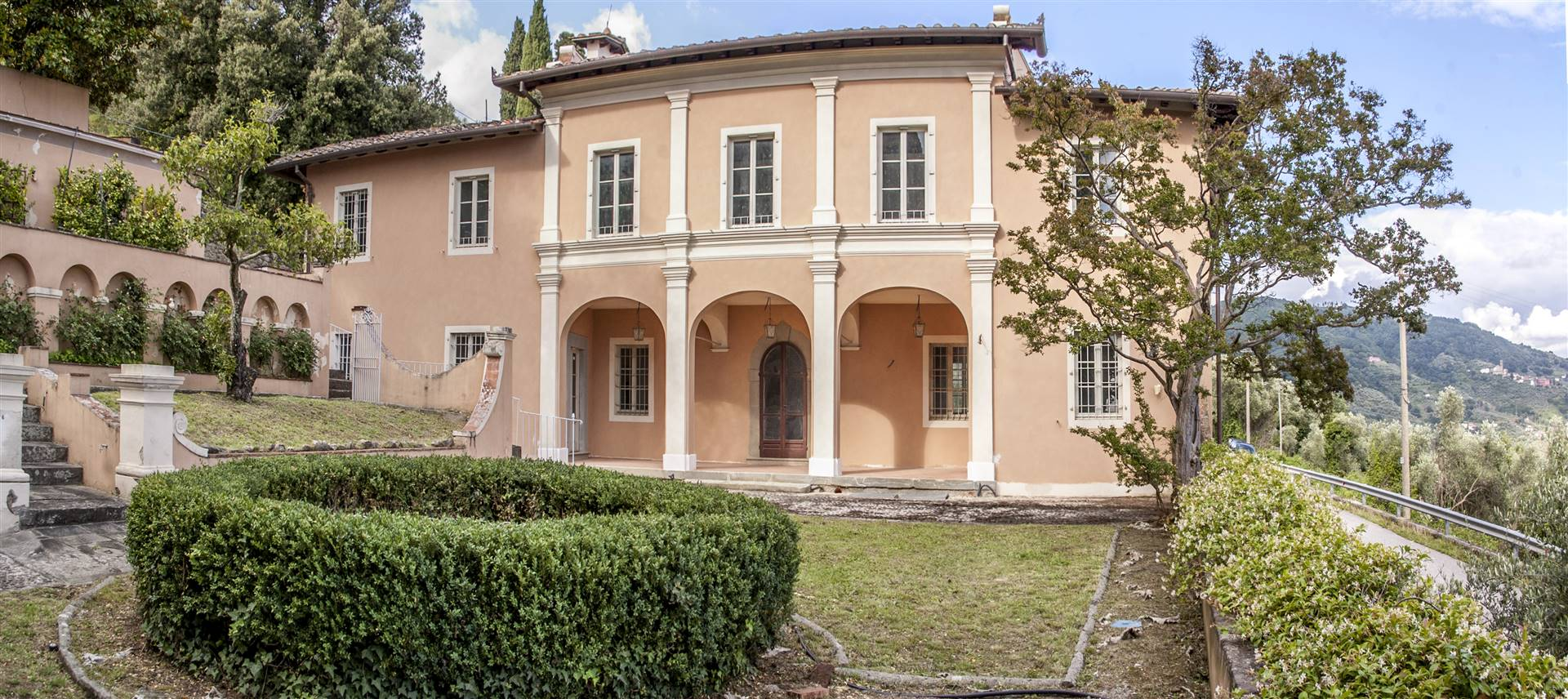 PESCIA, nested in the tranquil Tuscan hills between the quaint cities of Lucca and Florence this bespoke 18th century palace is ready for your