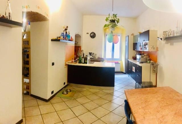 Cucina ed ingresso zona lavanderia