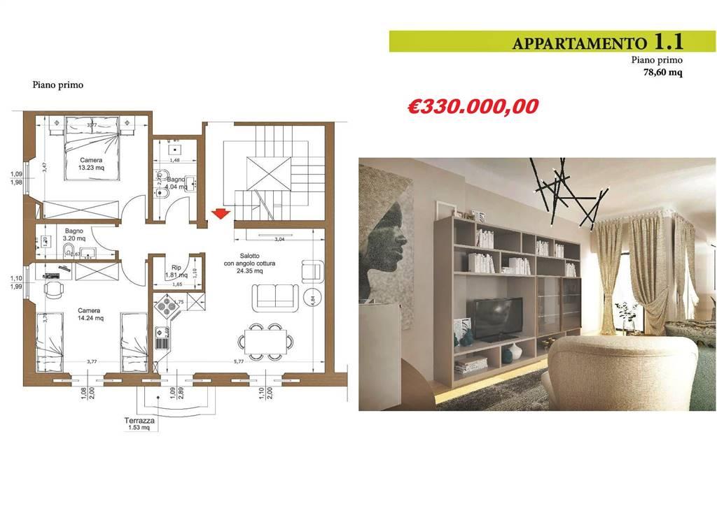 AppartamentiFirenze - Trilocale, Libertà, Savonarola, Firenze, ristrutturato