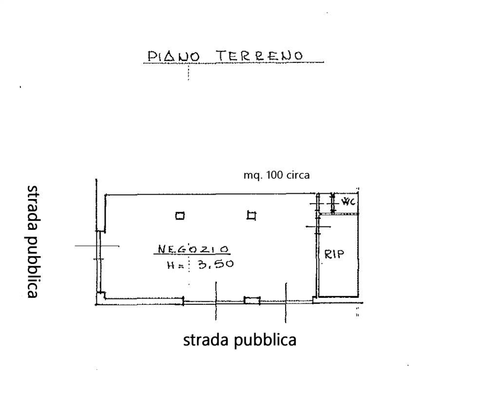 MEZZANA, PRATO, Negozio in affitto di 100 Mq, Buone condizioni, Riscaldamento Autonomo, Classe energetica: G, posto al piano Terra, composto da: 1