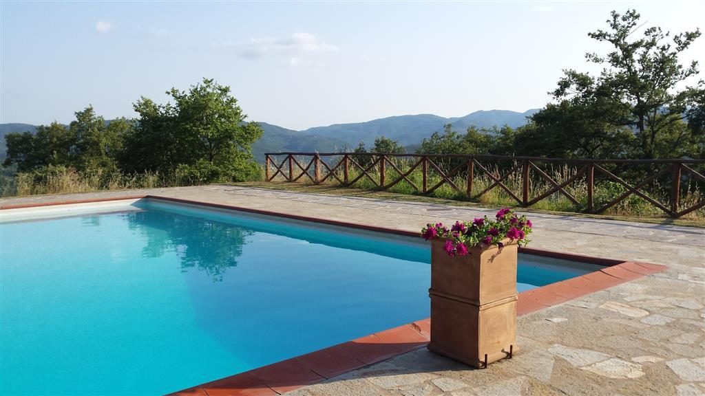A 10 Km da Arezzo, direzione San Sepolcro, Azienda agricola composto da una casa in pietra a 2 piani, essiccatoio, agriturismo con 2 immobili