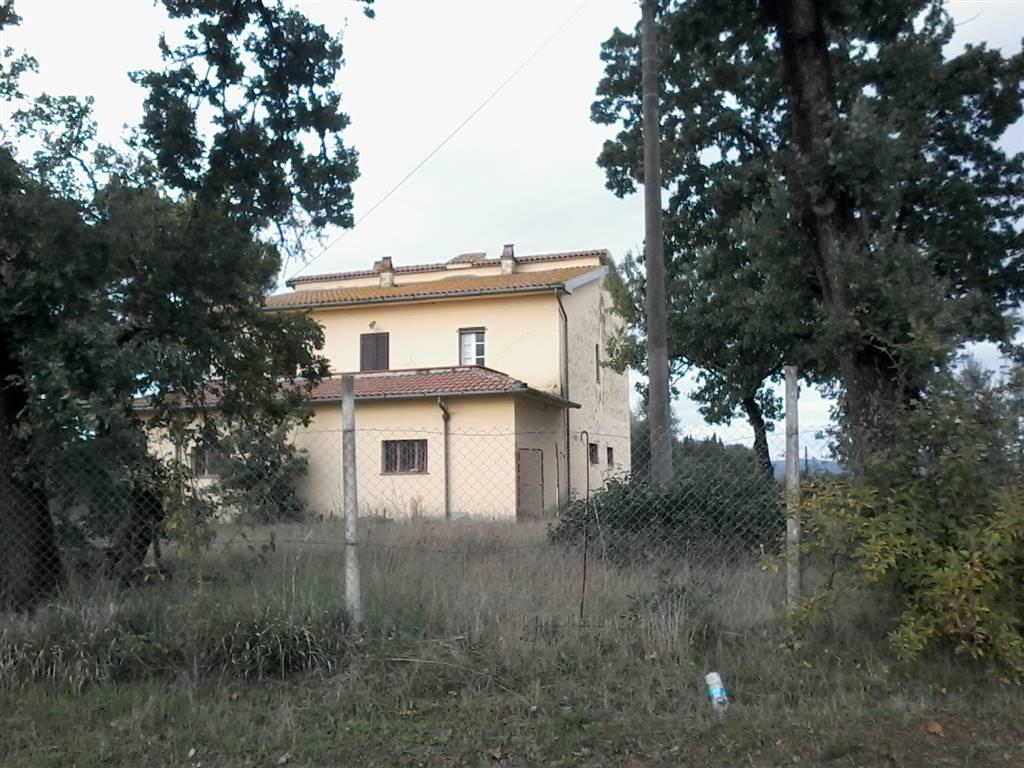Ad Alberoro, in posizione interna proprietà immobiliare composta da: Casa singola su 2 livelli, terreni in posizione semi-pianeggiante laghetto per