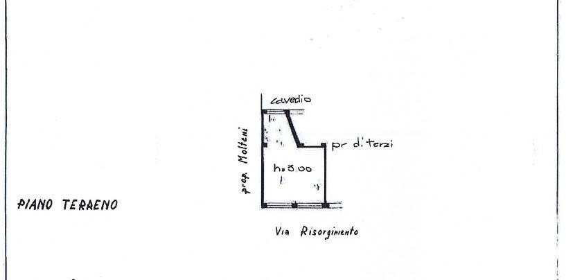 Planimetria negozio