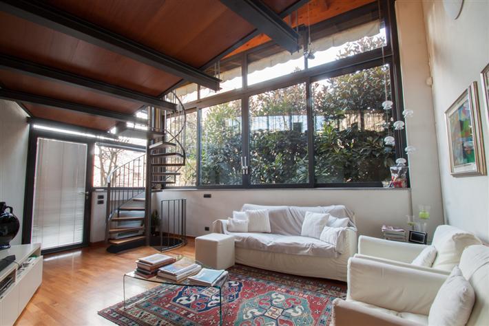 Vendita appartamento indipendente centro storico san - Giardino interno appartamento ...