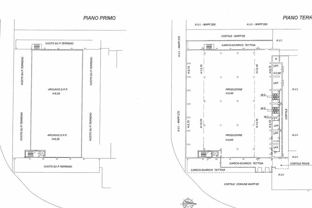 planimetria capannone 1