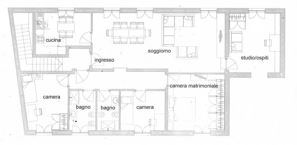 Appartamento, Cava Manara, da ristrutturare