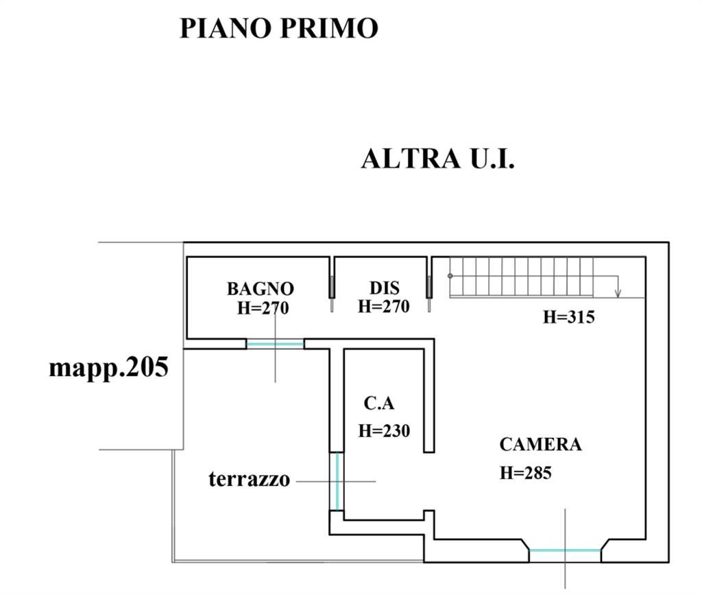 Planimetria - Rif. P.le Libia