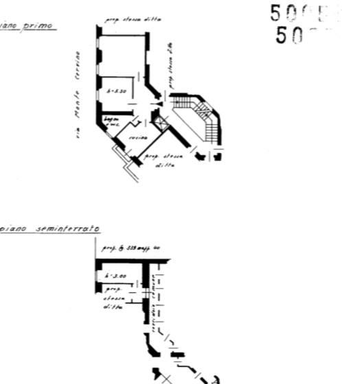 Planimetria - Rif. BILOCALE ARREDATO AMENDOLA-BUONARROTI