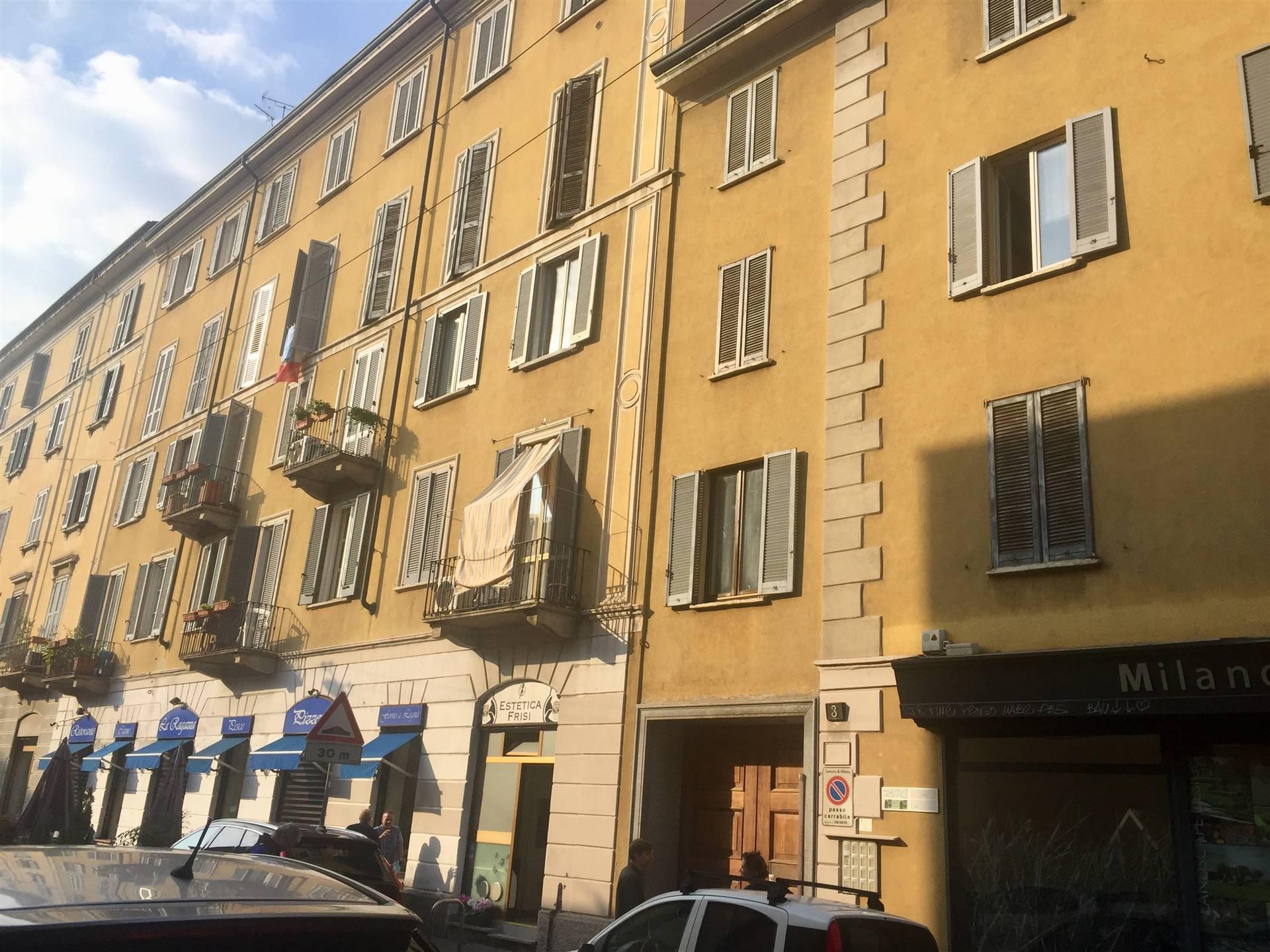 PORTA VENEZIA, MILANO, Квартира в аренду, После ремонта, Отопление Независимое, Класс энергосбережения: G, Epi: 175 kwh/m2 год, на земле 2° на 4, состоит из: 2 Помещения, Кухонька, , 1 Комнаты, 1