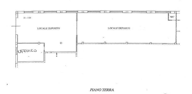 Locale commerciale, San Severino Marche