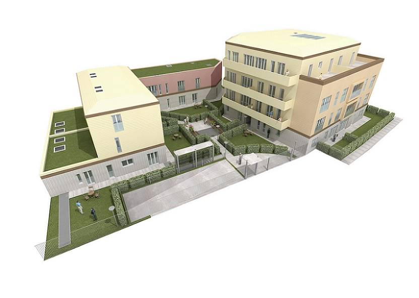 Nuova costruzione in Via Fratelli Gorlini 43, Milano