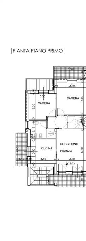 CROCIFISSO, SIGNA, Appartement des vendre de 110 Mq, Nouvelle construction, Chauffage Autonome, Classe Énergétique: A, Epi: 175 kwh/m2 l'année, par
