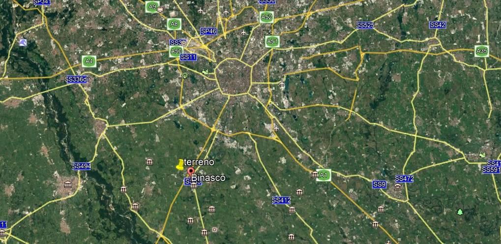 Terreno Edificabile Comm.le/Ind.le in vendita a Binasco, 9999 locali, Trattative riservate | PortaleAgenzieImmobiliari.it