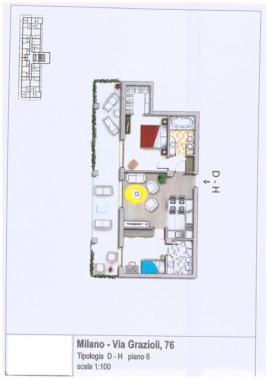Nuova costruzione in Via Grazioli 76, Affori, Bovisa, Niguarda, Testi, Milano