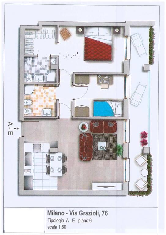 Casa indipendente in vendita a Milano
