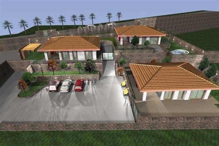 Villa, Pedara, in nuova costruzione
