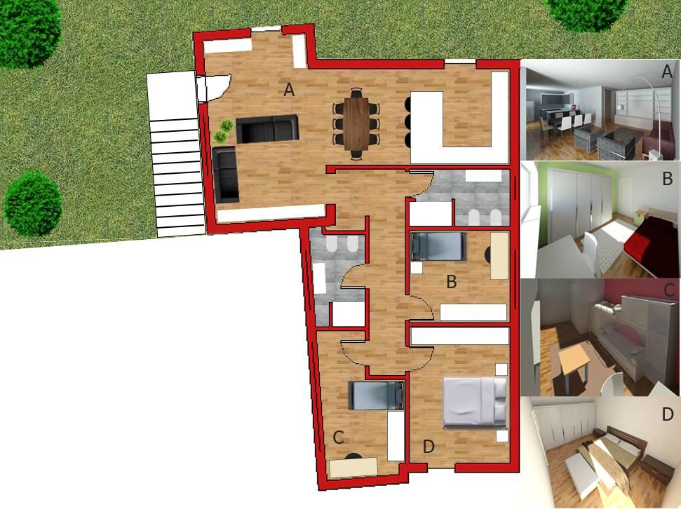 Appartamento in vendita a Monsano, 5 locali, Trattative riservate | PortaleAgenzieImmobiliari.it