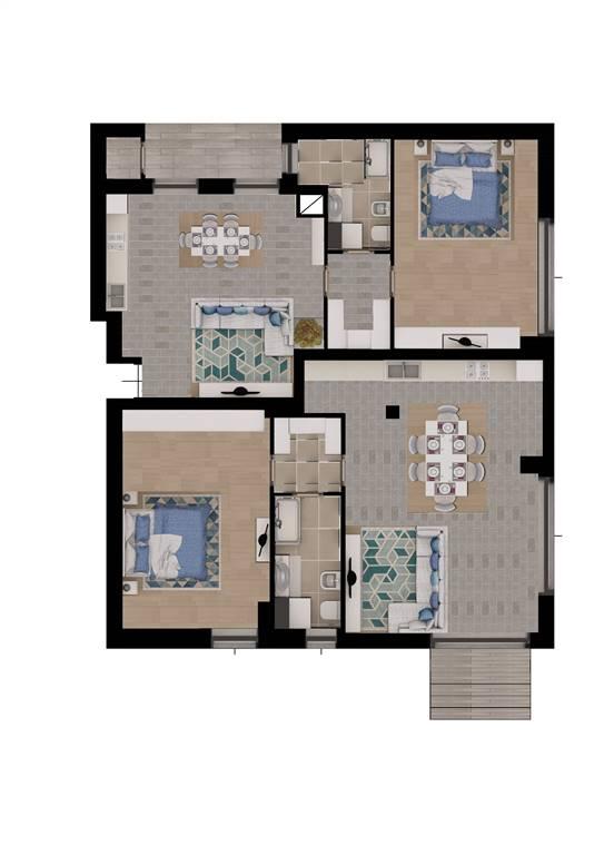 Appartamento a GARBAGNATE MILANESE