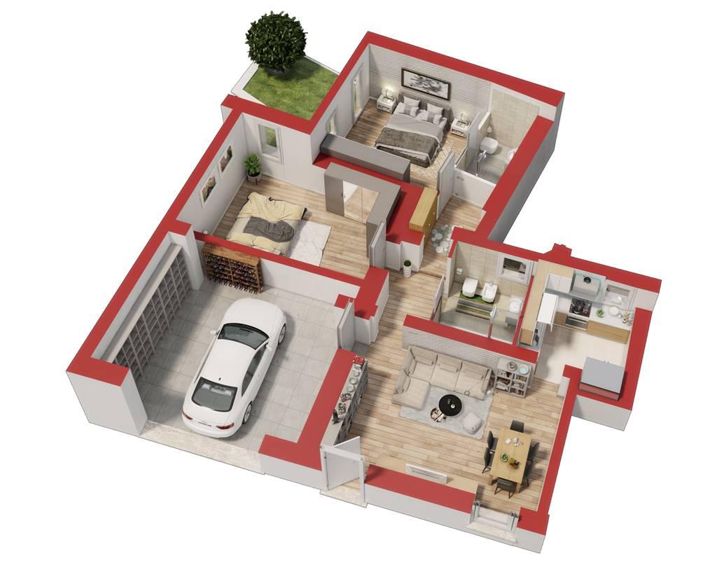 Appartamento in vendita a Negrar, 3 locali, zona Zona: Arbizzano, prezzo € 160.000   CambioCasa.it