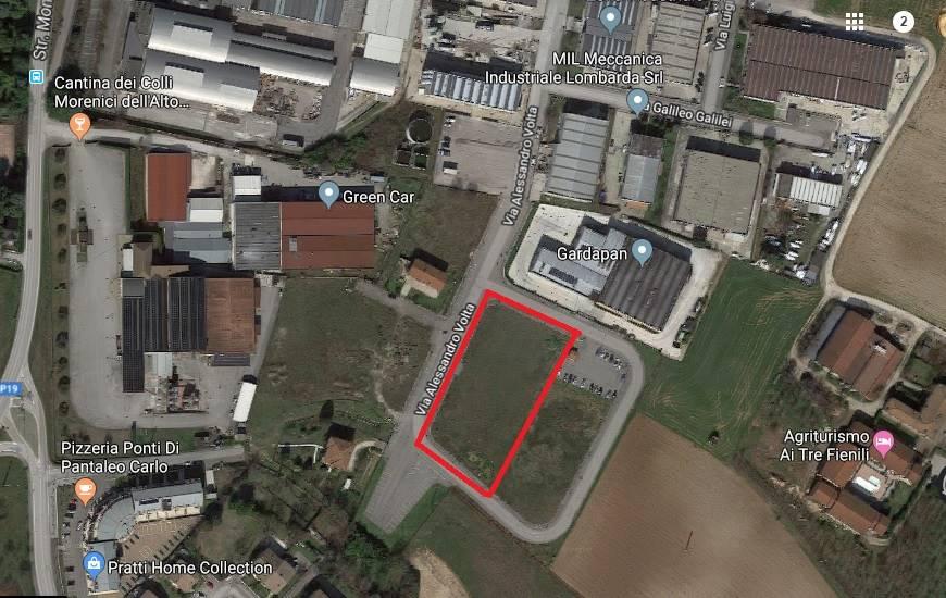 Terreno Edificabile Residenziale in vendita a Ponti sul Mincio, 1 locali, zona Zona: Broglie, prezzo € 350.000 | CambioCasa.it