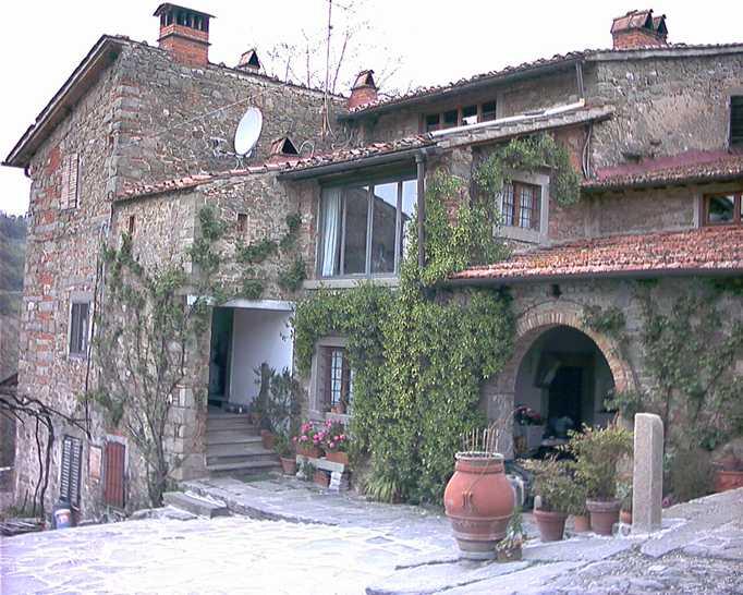 Colonica, Santa Brigida, Pontassieve, abitabile