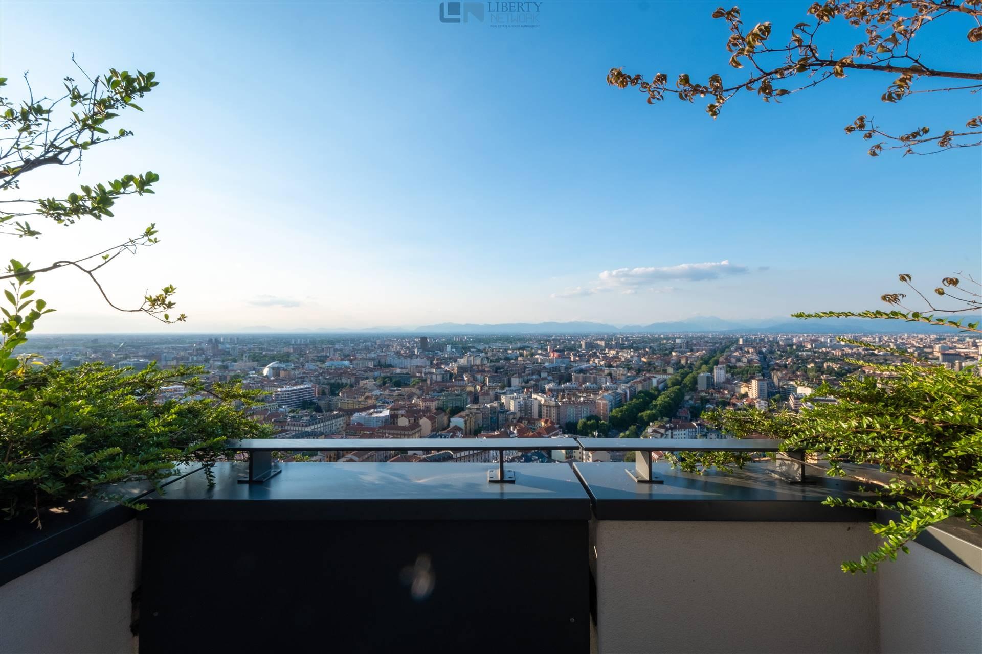 vista dalla terrazza panoramica 26° piano