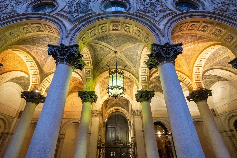 colonnato di sera