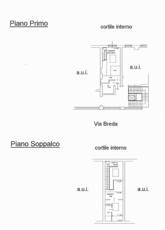 Planimetrie - Rif. Breda 120 ( Sub. 731)