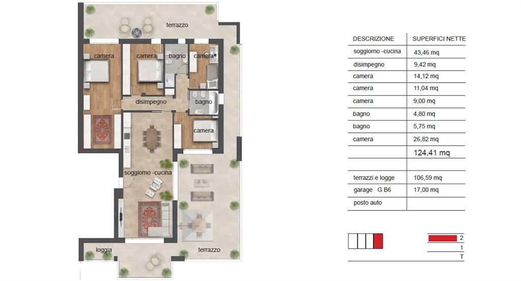appartamento B6