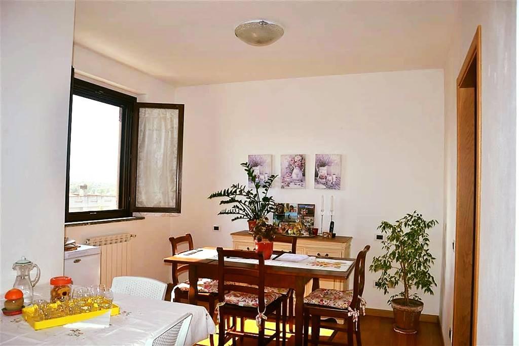 L'appartamento, in ottime condizioni, di circa 70 mq è così composto: ingresso nel salotto con grande terrazza vivibile, cucina e ampia zona pranzo
