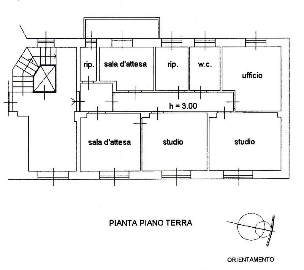 Ufficio / Studio in affitto a Grosseto, 6 locali, zona Località: CENTRO CITTÀ, prezzo € 650 | CambioCasa.it