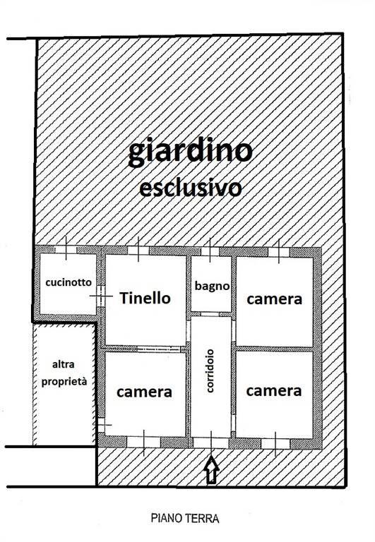 ROSELLE, GROSSETO, Apartment for rent of 85 Sq. mt., Good condition, Heating Individual heating system, Energetic class: G, placed at Ground,