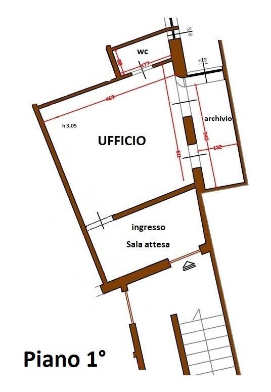 A Grosseto Ufficio / Studio  in Affitto