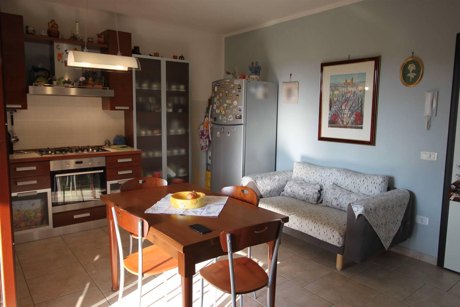ZONA PIZZETTI - Via Carlo Zecchini 19 Zona residenziale appartamento seminuovo al piano primo con ascensore, composto di soggiorno ampio con angolo cottura di discrete dimensioni, terrazza panoramica
