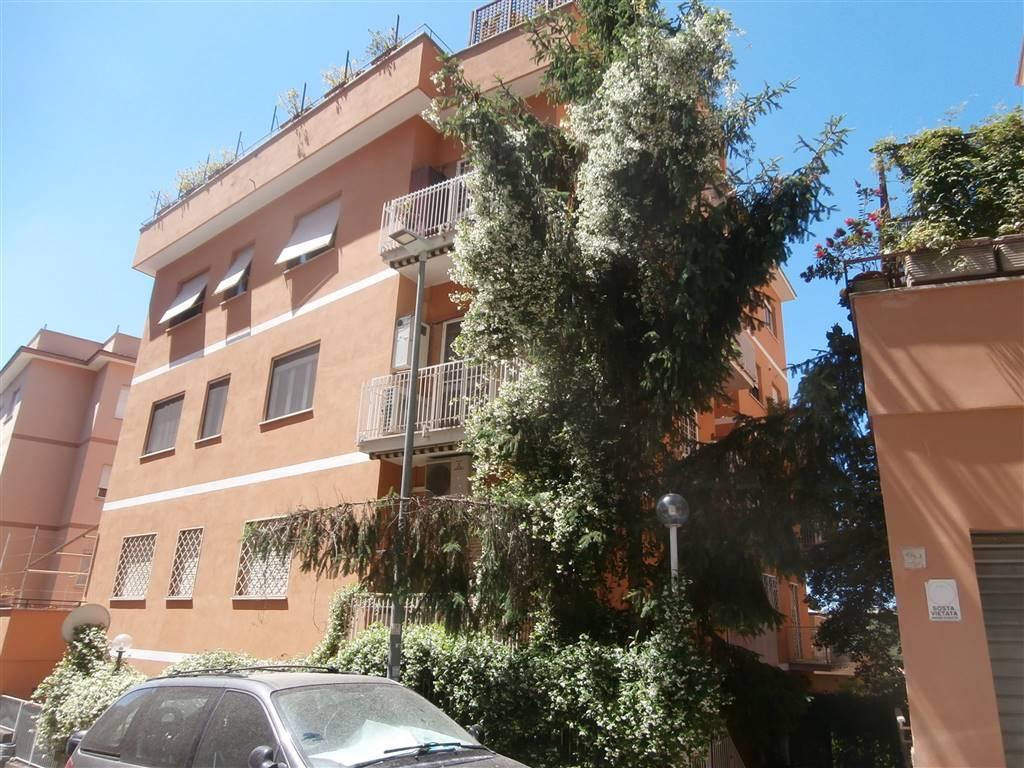 Balduina prossimità stazione Appiano, Via Cesare de Fabritiis, appartamento in contesto signorile, ampia superficie, piano terra con box e vari giardini a dislivello, non arredato, condizionato,
