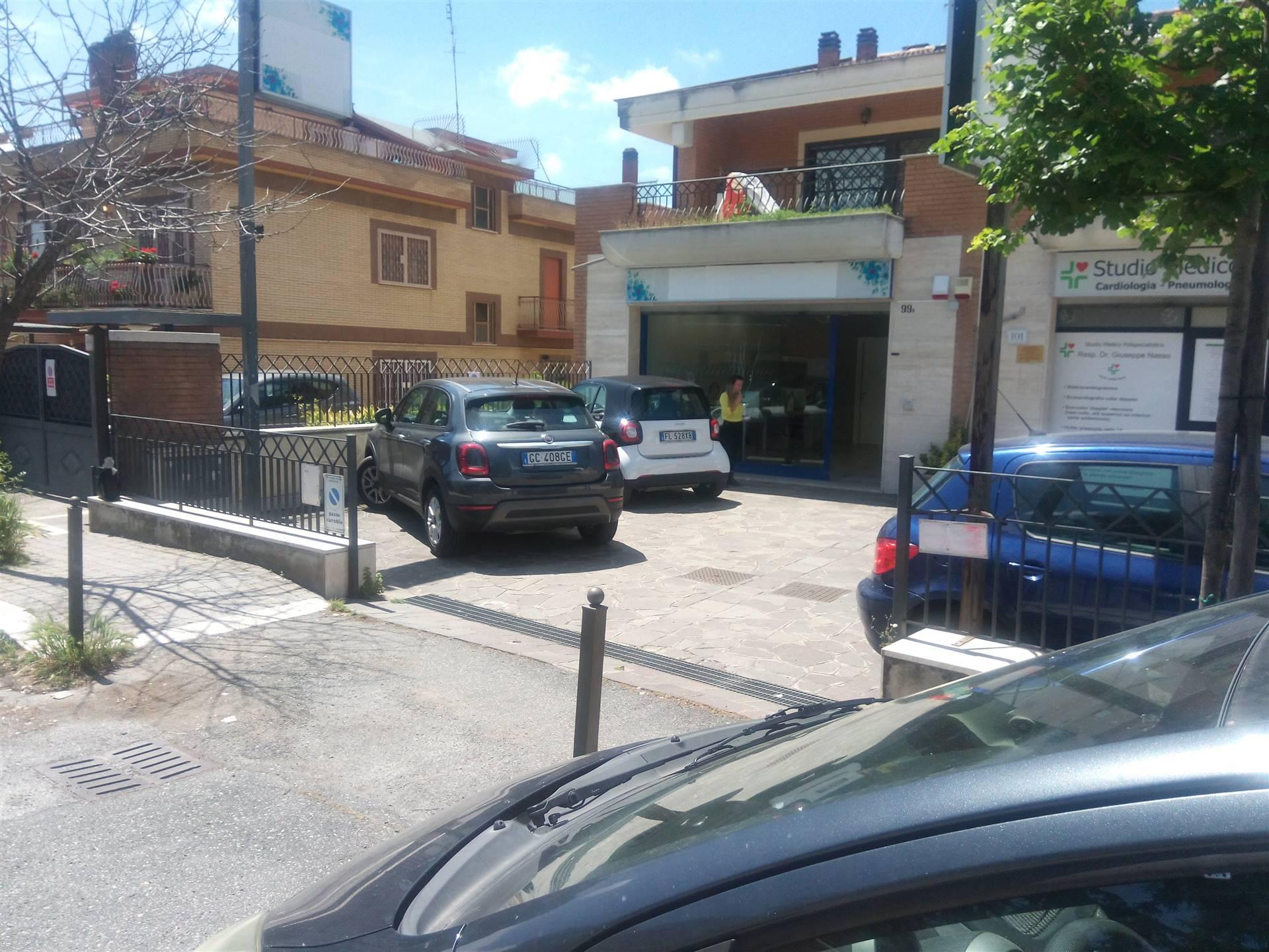 Bravetta, precisamente in Via della Casetta Mattei, si propone in Affitto Locale Commerciale C1 di Mq. 47 circa, alto passaggio veicolare, ottima