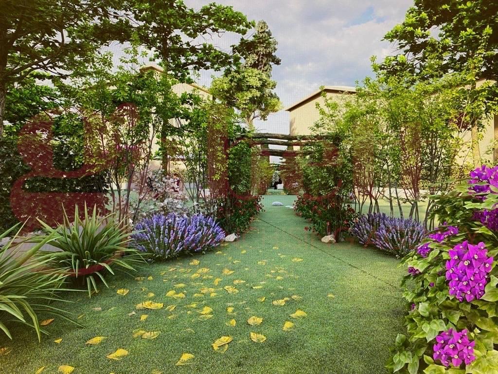 render giardino