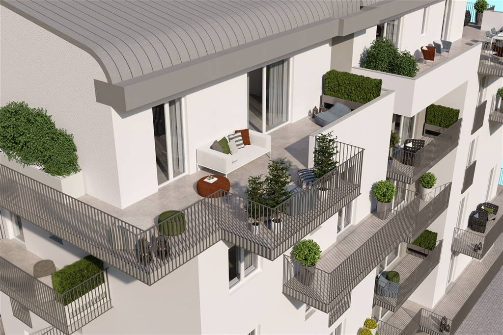 CENTRO CITTÀ, CUNEO, New construction for sale of 98 Sq. mt., New construction, Heating Individual heating system, Energetic class: A, placed at 1°,